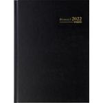 Agenda Brepols Bremax A4 1 Jour sur 2 pages 2020 Noir