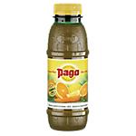 12 bouteilles de jus de fruits   Pago   A C E   Orange + Carotte + Citron   33 cl