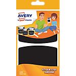 Étiquettes Avery Ardoise ARDO10 95 (H) x 63 (l) mm Noir 10 étiquettes