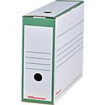 Boîtes archives Office Depot 24,5 (H) x 10 (l) cm Vert