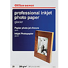 Papier photo glacé Brillant Blanc Office Depot Professional A4 280 g