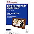 Papier photo professionnel Brillant Blanc Office Depot Professional A4 270 g