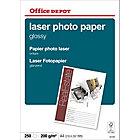 250 Feuilles de papier photo laser brillant   Office Depot   A4   210g
