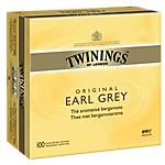 Sachets de thé Twinings Twinning's Arômes naturels   100