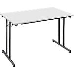 Table pliante Sodematub 120 x 80 x 74 cm Gris