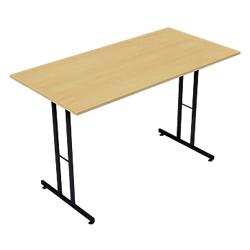 Table pliante rectangulaire sodematub 120 l x 60 p x 74 h - Table pliante 120 x 60 ...