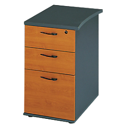 caisson hauteur bureau profondeur 61 cm gamme jazz imitation aulne anthracite par office depot. Black Bedroom Furniture Sets. Home Design Ideas