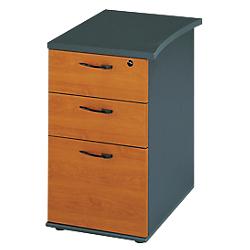 caisson hauteur bureau profondeur 61 cm gamme jazz. Black Bedroom Furniture Sets. Home Design Ideas