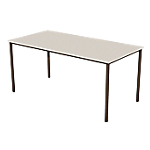 Table multi usages   plateau beige