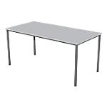 Table multi usages   plateau gris clair