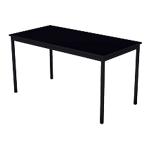 Table multi usages Sodematub 140 (l) x 70 (P) x 74 (H) cm Noir