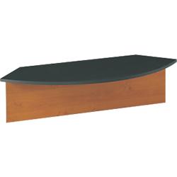 surmeuble pour bureau gautier office gamme jazz angle 90 imitation aulne anthracite par office depot. Black Bedroom Furniture Sets. Home Design Ideas