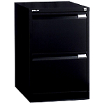 Classeur 2 tiroirs   Bisley   noir