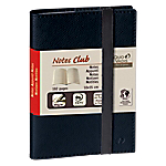 Carnet de notes ligné   Quo Vadis   Club   10 x 15 cm   noir