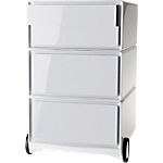 Caisson Mobile 4 tiroirs Paperflow EasyBox 39 (L) x 43,6 (l) x 64,2 (H) cm Blanc