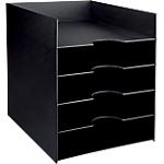 Trieur monobloc Paperflow 26 (l) x 32,5 (l) x 32 (H) cm Noir