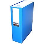 Boîte archive à pression niceday 100 mm 32 (H) x 24 (l) cm Bleu clair