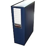 Boîte archive à pression niceday 100 mm 32 (H) x 24 (l) cm Bleu