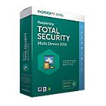 Logiciel Antivirus Kaspersky Total Security 5 Postes 1 An