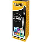 Stylo bille BIC Cristal® Stylus Noir   12
