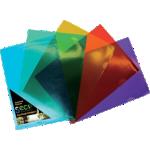 Pochettes coins A4 Assortiment de couleurs – 25/Paquet