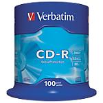 100 CD R   Verbatim   700 Mo