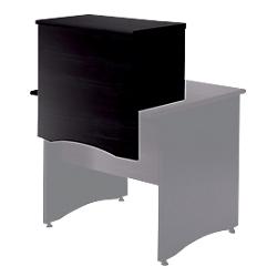 surmeuble a poser sur table bureau pour former banque d accueil mt international syracuse 146 l. Black Bedroom Furniture Sets. Home Design Ideas
