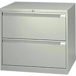 Crédence pour dossiers suspendus   Bisley   2 tiroirs   L.80 x P.47 x H.71,7 cm   beige
