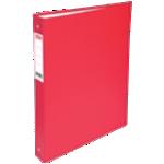 Classeur 4 anneaux Office Depot dos 40 mm – Rouge