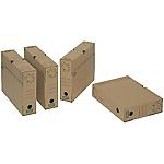 Boîte archives FAST Nature 24 (H) x 32 (l) x 10 (P) cm Carton Kraft   10 Boîte