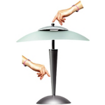 Lampe fluorescente - Unilux - Cristal - gris métal