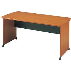 bureau droit jazz 160 l x 80 p x 74 h cm imitation aulne anthracite par office depot. Black Bedroom Furniture Sets. Home Design Ideas