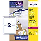 Étiquettes d'adresses AVERY Zweckform L7168 100 Blanc 200 étiquettes 100