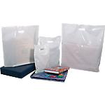 Sacs Plastique  320 (H) x 250 (l) mm 50 microns Blanc   100