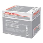 Papier Office Depot A4 80 g/m² Blanc Advanced - 5 Paquets de 500 Feuilles