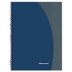 Cahier à spirale   Office DEPOT   A5+   14,8 x 21 cm   petits carreaux   160 pages perforées