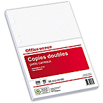 200 Copies doubles   Office Depot   A4   Petits carreaux
