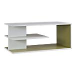 Top surmeuble pour meuble de rangement   Gautier Office   Gamme Sunday   blanc & kiwi