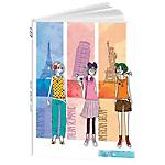 Agenda Calendriers Bouchut Grandrémy City 2017, 2018 1 Jour par page 12cm (l) Multicolore