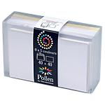 Coffret de correspondances Assortiment Pollen 9,2 (H) x 14,4 (l) cm   40 + 40