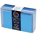 Coffret de correspondances Bleu Pollen 9,2 (H) x 14,4 (l) cm   40 + 40