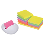 Notes repositionnables Post it Z notes 100 76 (H)  x  76 (l) mm Jaune   12 blocs