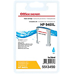Cartouche jet d'encre Office Depot Compatible HP 940XL Cyan C4907AE