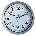 Horloge radio pilotée   Orium   38 cm   argent