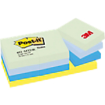 12 blocs de notes repositionnables couleurs   Post it   38 x 51 mm   menthe