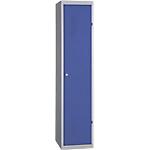 Vestiaire Industrie Salissante à monter 1 colonne   Elément départ 40 (L) x 50 (l) x 180 (H) cm Bleu