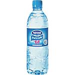 24 bouteilles d'eau   Nestlé   Aquarel   50 cl