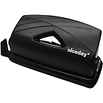 Perforateur Niceday 2 trous Noir, bleu