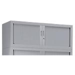 Module d'extension pour armoire haute Pierre Henry GC0412 Acier, polypropylène 120 (L) x 43 (l) x 44 (H) cm Gris clair