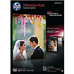 50 Feuilles de papier photo   HP   CR674A   qualité photo couché brillant Premium plus   A4 300g